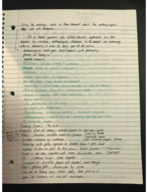 ANTH 109 - Class Notes - Week 8