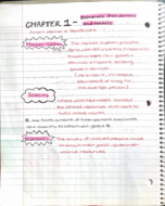 ECON 1010 - Class Notes - Week 1