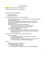 Texas State - BIO 4301 - Study Guide - Midterm