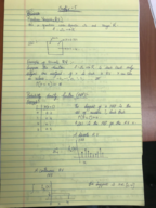 Computer Science 120 - Class Notes - Week 6