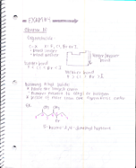 CHEM 227 - Class Notes - Week 9