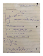 ECON 203 - Class Notes - Week 11