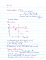 ECON 203 - Class Notes - Week 12