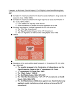 Law 210 - Class Notes - Week 10