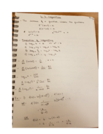 MATH 1431 - Class Notes - Week 7
