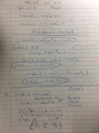 MTH 114 - Study Guide