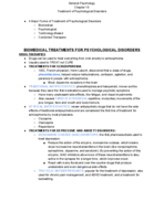 PSY 1010 - Class Notes - Week 14