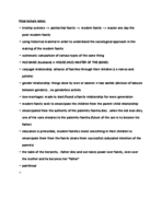 Concordia University - ANTH 202 - Class Notes - Week 13