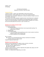ANTH 2020 - Class Notes - Week 2