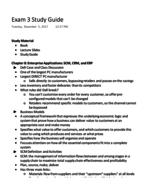 ITM 209 - Study Guide