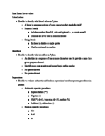 Towson - COS 175 - Study Guide - Final