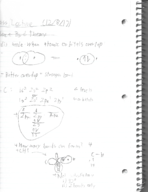 CHM 1045 - Class Notes - Week 8