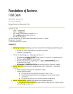 BUS 1104 - Study Guide