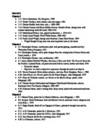 HIST 72 - Study Guide