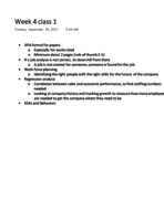 MGMT 2001 - Class Notes - Week 4