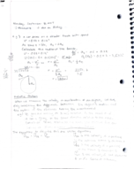 UOP - PHYS 053 - Class Notes - Week 4