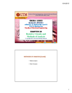 Faculty of Electrical Engineering 123 - Study Guide