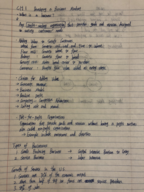 MIE 201 - Class Notes - Week 1