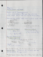 UH - PHYS 1322 - Class Notes - Week 1