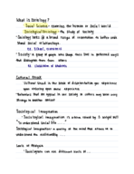 sociology class 12 notes chapter 3