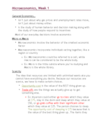 ECO 2023 - Class Notes - Week 1