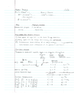 St. Petersburg College - PHY 3101 - Class Notes - Week 1