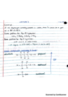 Temple - CHEM 1032 - Class Notes - Week 2