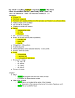 PHY 11030 - Class Notes - Week 1