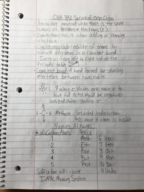 CHM 342 - Class Notes - Week 2