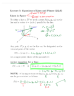 UF - Calculus 2313 - Class Notes - Week 2