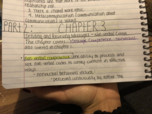 comm 2500 class notes