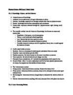 BYU - PHY S 100 - Study Guide - Midterm