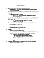 UIC - STAT 101 - Class Notes - Week 2