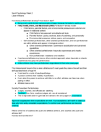 PSY 4696 - Class Notes - Week 2