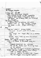 SOCI 2010 - Class Notes - Week 1