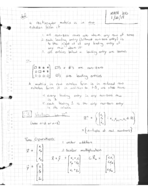 UIC - MATH 310 - Class Notes - Week 2