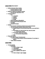 IPHY 2420 - Class Notes - Week 1