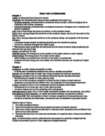 CHM 2045 - Study Guide