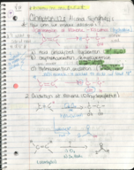 Texas State - CHEM 2342 - Class Notes - Week 2