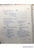 CHM  116 - Class Notes - Week 3