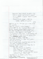 HIS 2312 - Class Notes - Week 2