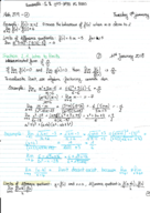 MATH 209 - Class Notes - Week 1