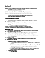 U of L - Bus 201 - Study Guide - Midterm