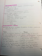 BIOL 240 - Class Notes - Week 2