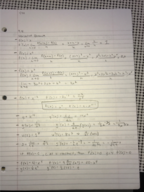 TTU - MATH 1331 - Class Notes - Week 3