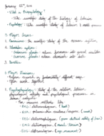 PSYCH 2012 - Class Notes - Week 2