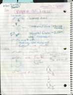 Texas State - CHEM 2342 - Class Notes - Week 4