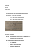 BSU - BIO 215 - Class Notes - Week 4