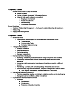 MGMT 371 - Class Notes - Week 2