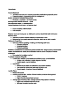 Virginia Tech - FIN 3104 - Study Guide - Midterm